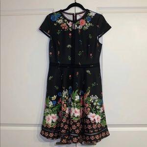 Ted Baker Floral Print Dress